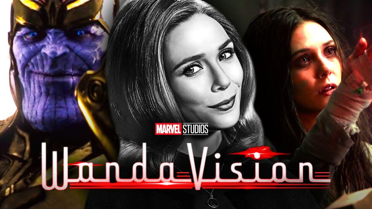 Wanda Thanos Scarlet Witch WandaVision