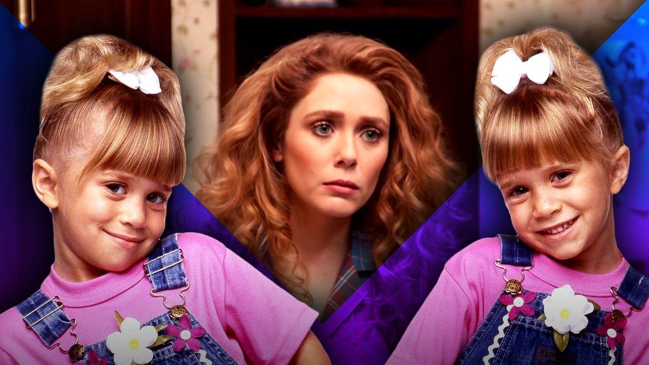 Elizabeth Olsen as Wanda, Olsen Twins