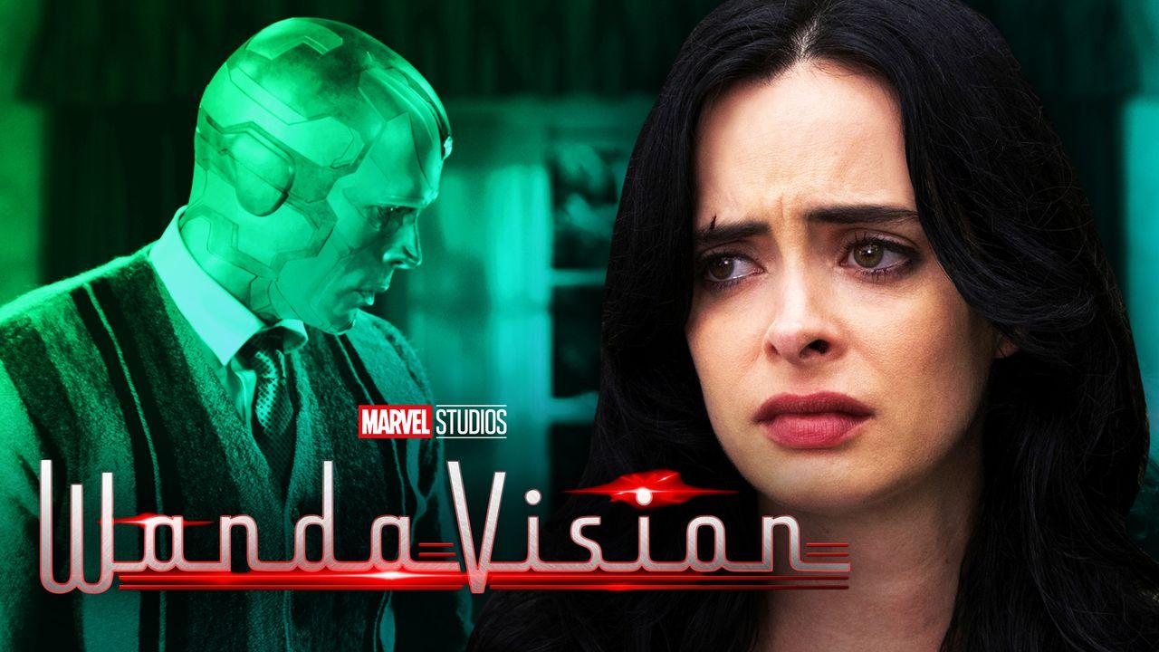 WandaVision Easter Egg: Episode Intro References Marvel's Jessica Jones doctor strange Character