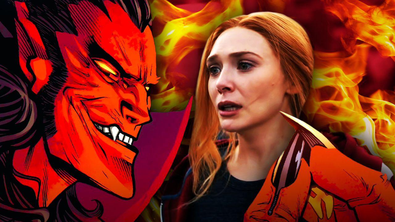 Mephisto WandaVision Wanda