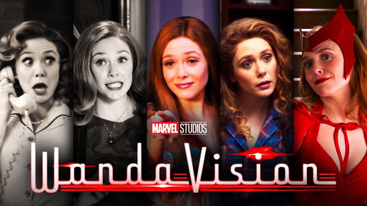 Elizabeth Olsen Eras WandaVision Wanda Maximoff