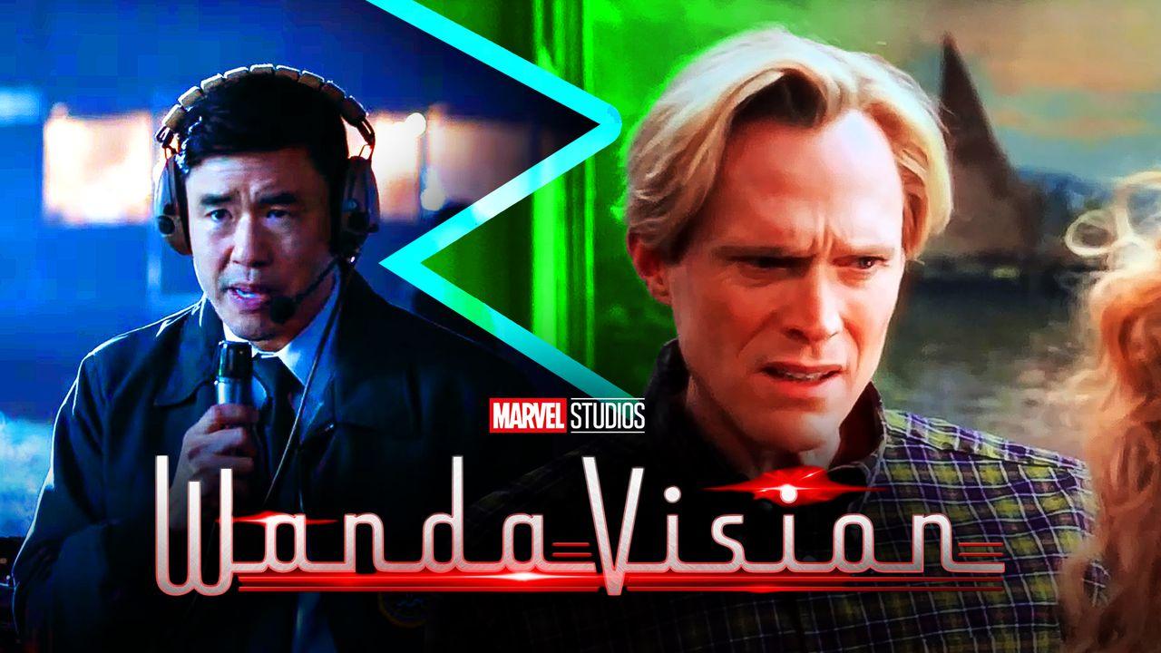 Jimmy Woo The Vision WandaVision logo