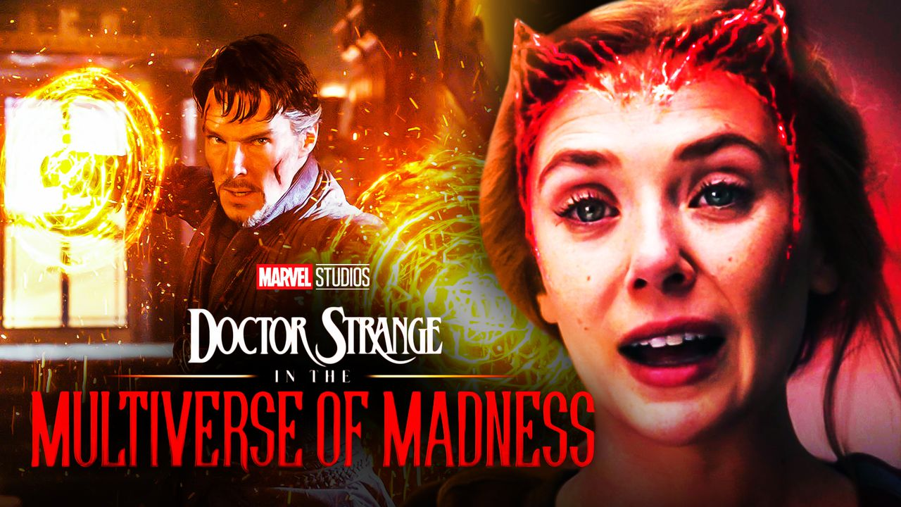 Elizabeth Olsen Scarlet Witch Doctor Strange