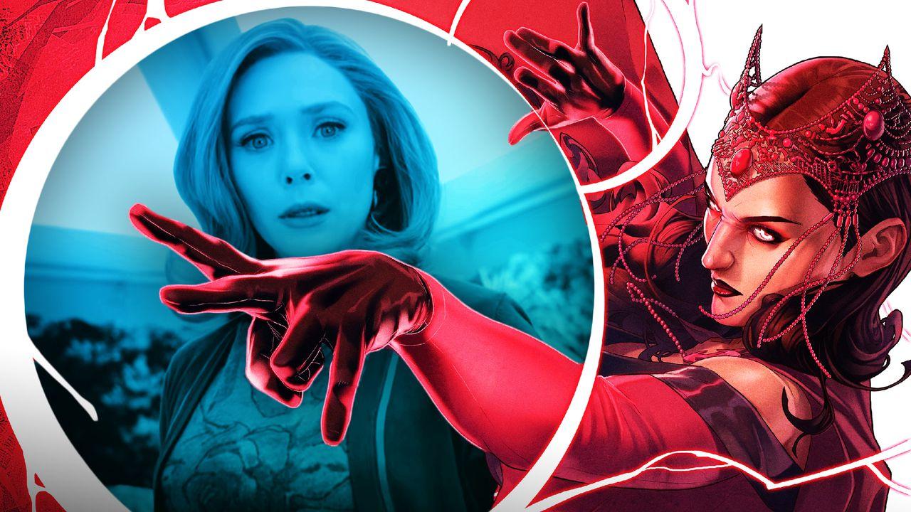 Elizabeth Olsen, Comic Scarlet Witch