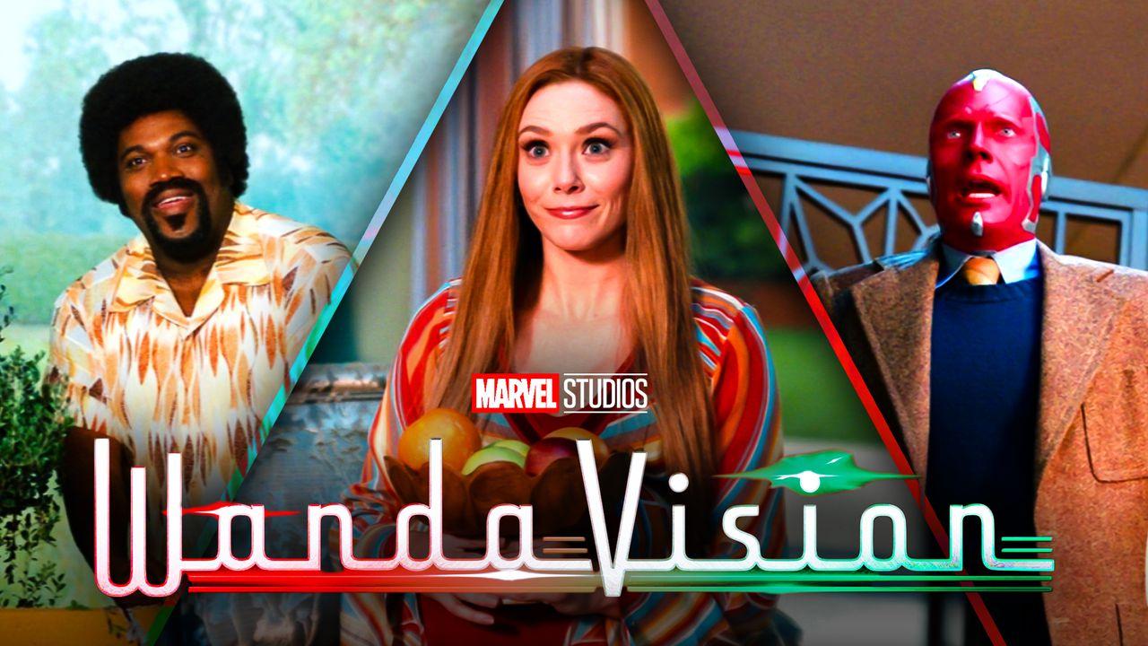 Herb, Wanda Maximoff, Vision, WandaVision logo