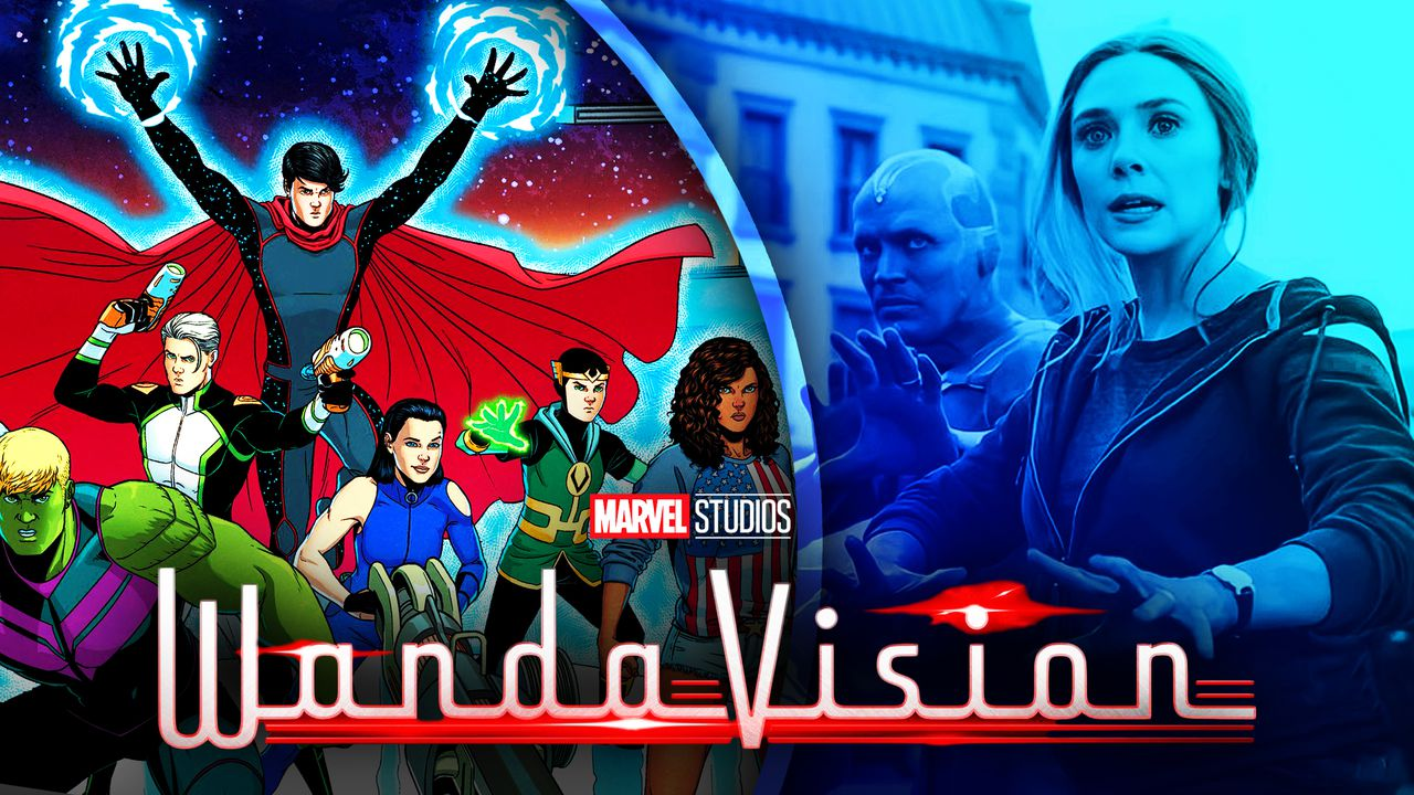 WandaVision The Young Avengers Billy Wiccan