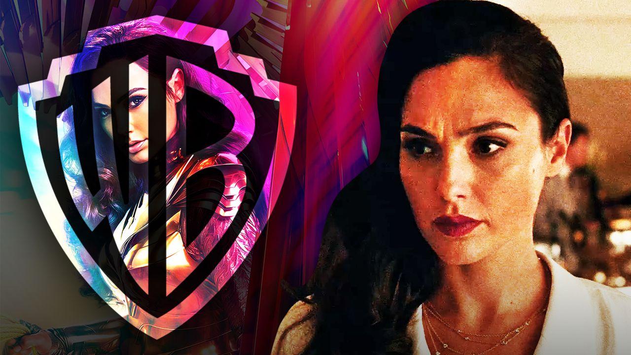 Warner Bros. logo, Gal Gadot as Diana Prince