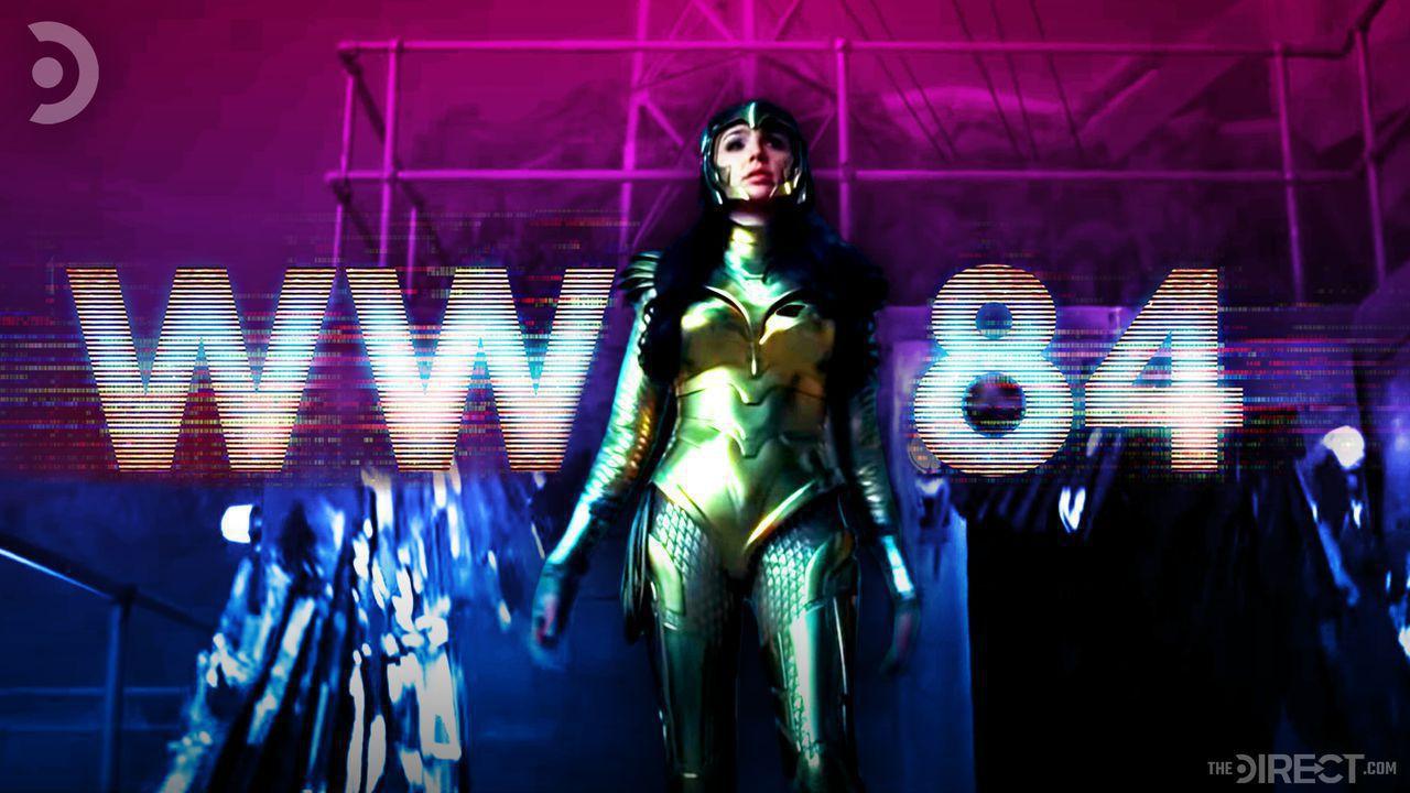 Wonder Woman and Wonder Woman 1984 logo