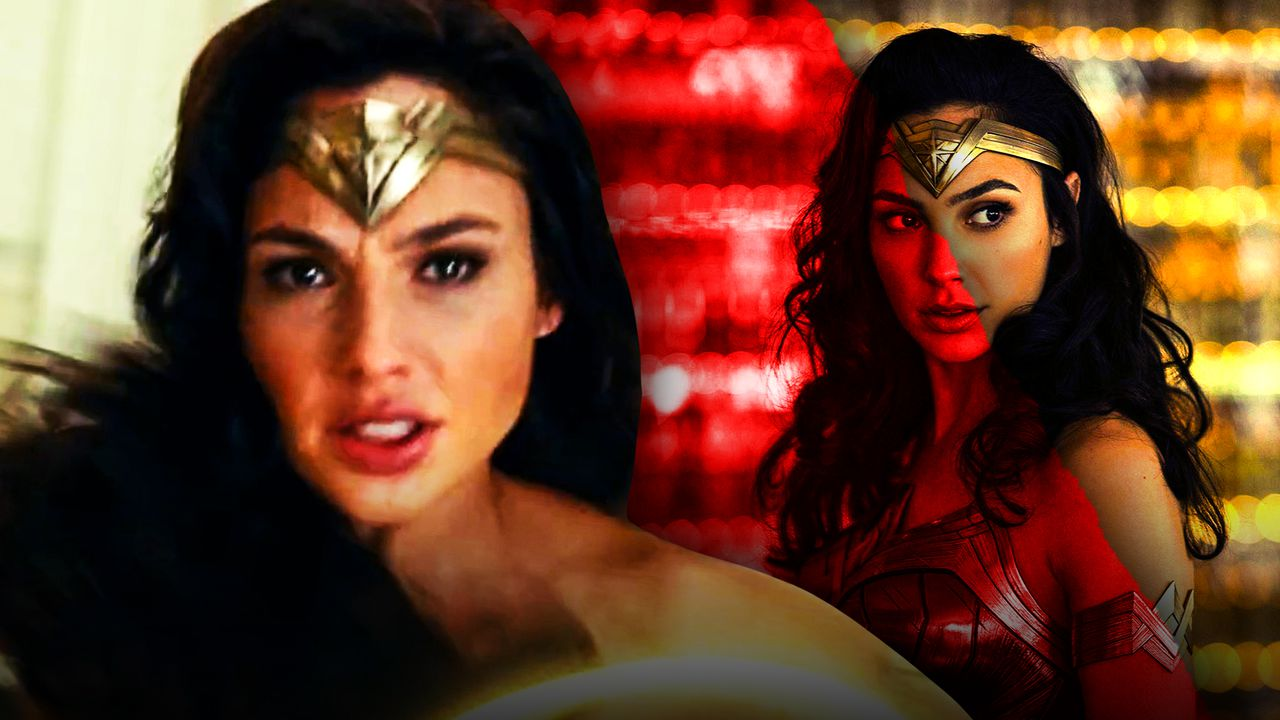 Wonder Woman Crying
