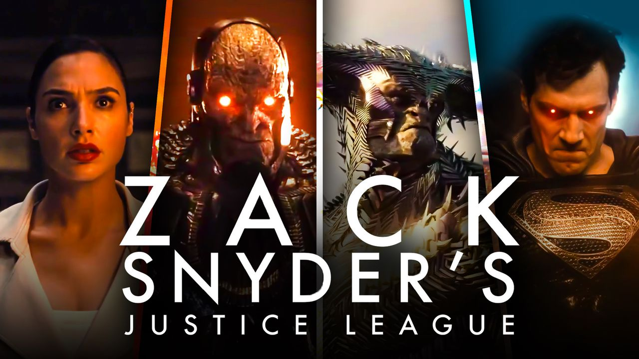 Zack Snyder's Justice League Logo Darkseid Superman Steppenwolf