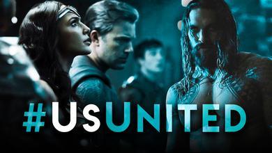 UsUnited Promo Images of Batman, Wonder Woman, and Aquaman
