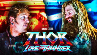 Star-Lord, Thor, Love and Thunder