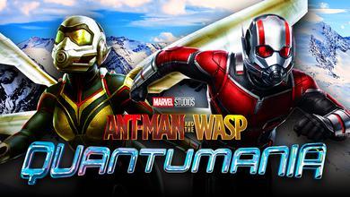 Ant-Man, Wasp, Ant-Man 3 logo