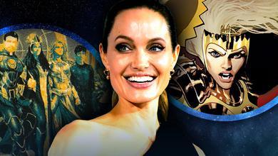 Eternals cast, Angelina Jolie, Thena from comics