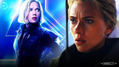 Black Widow in Avengers: Infinity War and Avengers: Endgame