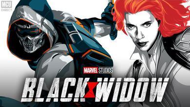 Black Widow and Taskmaster promotional art