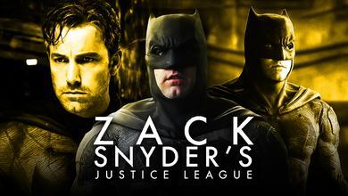Ben Affleck as Batman, Zack Snyder's Justice League Logo