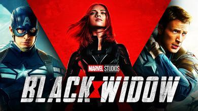 Black Widow, Captain America The Winter Soldier, Black Widow logo