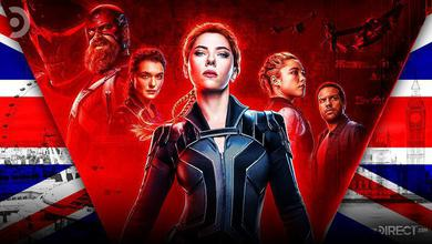 """""""Black Widow"""" will release in UK theaters, October 28th, one week earlier than the US."""
