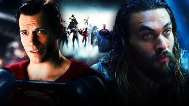 Superman, Aquaman, Justice League