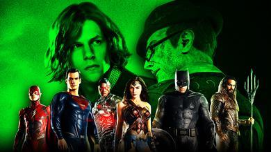 Lex Luthor Riddler Justice League