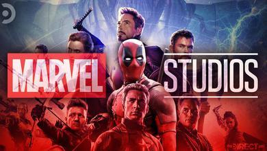 Deadpool with the Avengers, Marvel Studios logo
