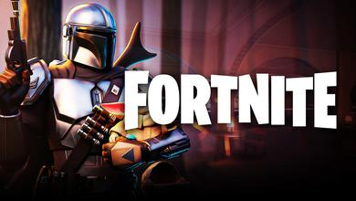 The Mandalorian, Fortnite logo