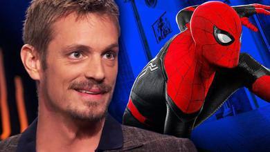 Close-up of Joel Kinnaman, Marvel Studios' Spider-Man