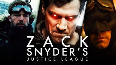 Zack Snyder's Justice League logo, Superman, Batman