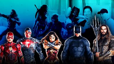 Zack Snyder's Justice League Behind The Scenes, Justice League members