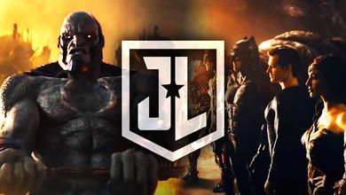 Zack Snyder's Justice League logo, Darkseid, Justice League