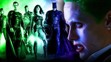 Justice League poster, Jared Leto Joker