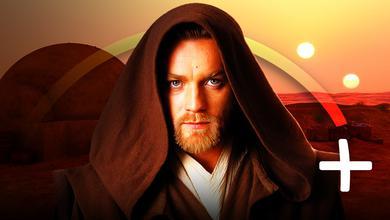 Ewan McGregor as Obi-Wan Kenobi, Disney+ logo
