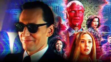 Sunglasses Loki with WandaVision Poster