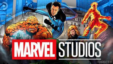 MCU Fantastic Four with the Marvel Studios logo