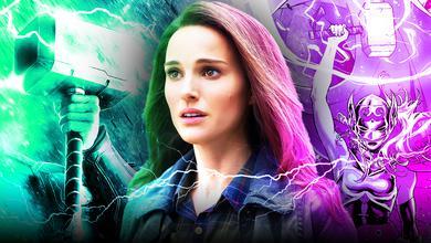 Jane Foster, Mighty Thor, Mjolnir, Natalie Portman