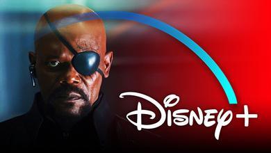 Nick Fury, Disney+ logo