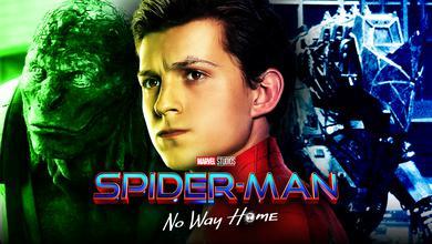 Spider-Man, Rhino, Lizard, Tom Holland