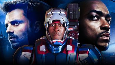 Bucky Barnes, Don Cheadle as War Machine, Sam Wilson