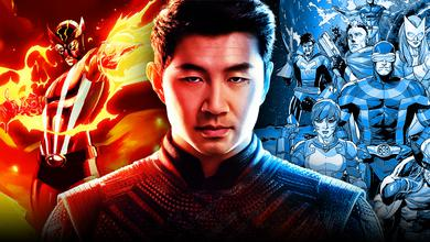 Sunfire, Simu Liu as Shang-Chi, various X-Men characters