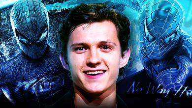 Tom Holland, Andrew Garfield Spider-Man, Tobey Maguire Spider-Man