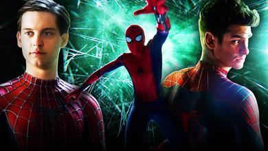 Andrew Garfield, Tobey Maguire, Spider-Man