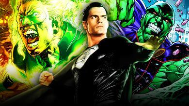 Green Lantern Martian Manhunter Blacksuit Superman