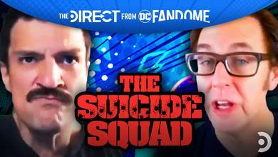Nathan Fillion, James Gunn, The Suicide Squad logo