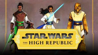 Padawans Concept Art from The High Republic, Star Wars The High Republic logo
