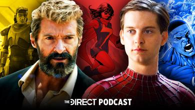 Hugh Jackman's Wolverine and Tobey Maguire's Spider-Man, The Direct Podcast