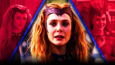 WandaVision Scarlet Witch Crown Elizabeth Olsen