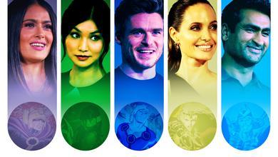Eternals Actors Cast Angelina Jolie, Salma Hayek