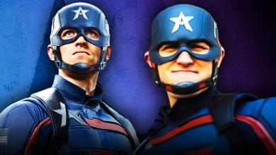 John Walker Captain America Falcon and Winter Soldier
