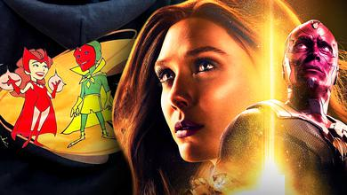 WandaVision hoodie, Scarlet Witch, Vision